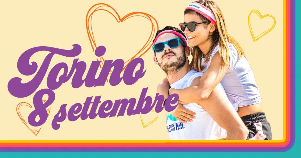 The Color Run #LoveTour. La tappa di Torino si terrà l'8 di settembre