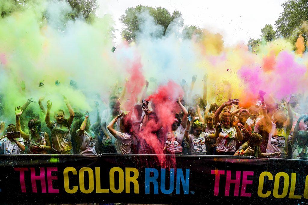 A Torino, l'8 settembre appuntamento in Piazza d'Armi con The Color Run